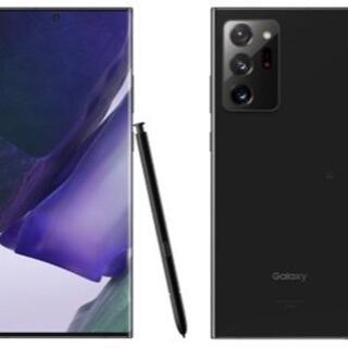 Galaxy Note 20 Ultra 5G SCG06 ブラック