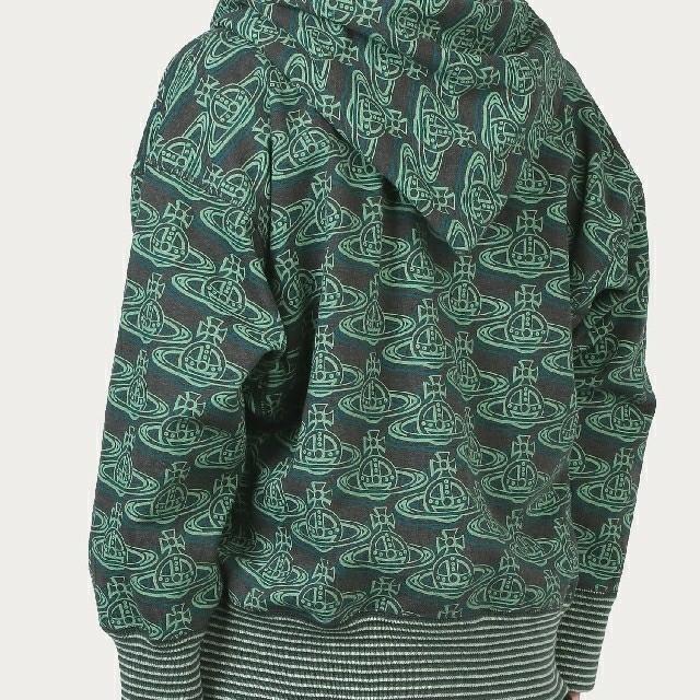Vivienne Westwood(ヴィヴィアンウエストウッド)のVivienne Westwood MAN 今期 オーブ リピート パーカー メンズのトップス(パーカー)の商品写真