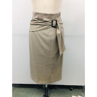 ジャスグリッティー(JUSGLITTY)のジャスグリッティ  リボンデティールスカート新品未使用タグ付き(ひざ丈スカート)