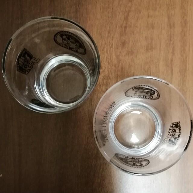 集英社(シュウエイシャ)のジョジョの奇妙な冒険 25周年 グラス 2個セット エンタメ/ホビーの漫画(少年漫画)の商品写真