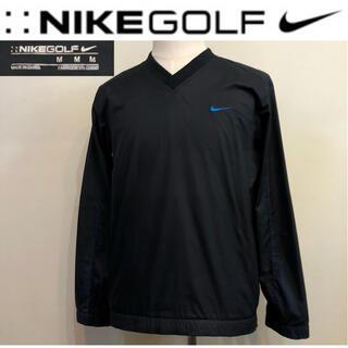 NIKE - ナイキゴルフ★プルオーバー ナイロン ジャケット ブラック Mサイズ