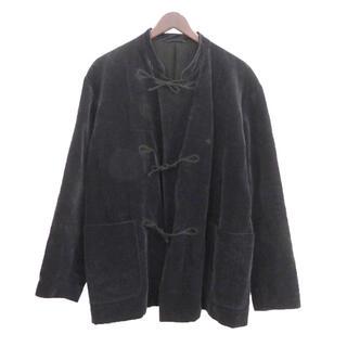 コモリ(COMOLI)のcomoli 19AW 別珍スタンドカラージャケット size:1(ノーカラージャケット)