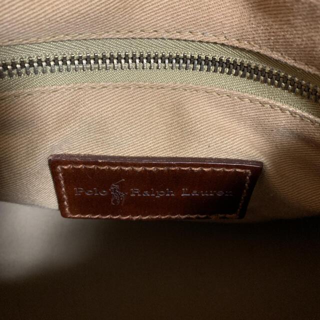 POLO RALPH LAUREN(ポロラルフローレン)の 最終値下げ ポロラルフローレン ミニボストンバッグ ブラシ付き チェック柄 レディースのバッグ(ボストンバッグ)の商品写真