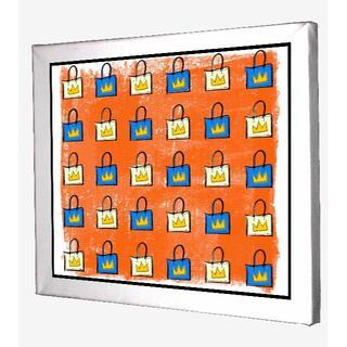 CB0128-ジャン=ミシェル・バスキア Basquiat キャンバスアート(ボードキャンバス)