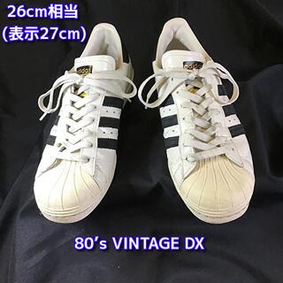 adidas - アディダス スーパースター 80s VINTAGE DX 26cm相当スニーカー