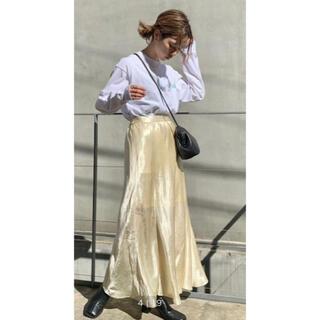 Kastane - クラッシュサテンマーメイドスカート