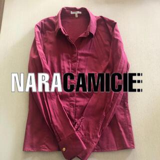 NARACAMICIE - ナラカミーチェ 綿シャツ 美シルエット イタリア製