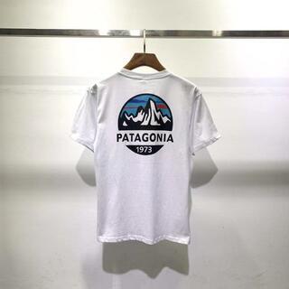 patagonia - 【新品】2枚Patagonia Tシャツ Lサイズ ブラック+ホワイト