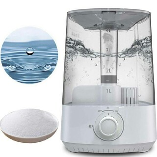 keecoon 空間除菌脱臭機  超音波加湿器 電解水生成機能付き 卓上加湿器