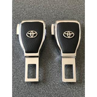 トヨタ TOYOTA 2個 シートベルト カーシートベルトバックル