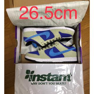 ナイキ(NIKE)のnike sb dunk low celadon 26.5 Nike acg (スニーカー)