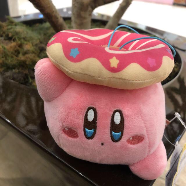 BANDAI(バンダイ)の星のカービィ yummy.donut.inナムコ マスコット エンタメ/ホビーのおもちゃ/ぬいぐるみ(キャラクターグッズ)の商品写真