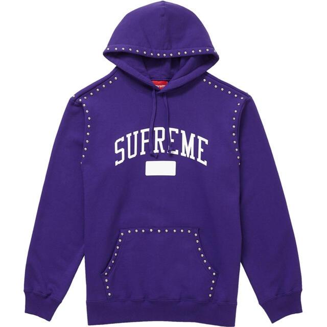 Supreme(シュプリーム)のSupreme Studded Hooded Sweatshirt パーカー l メンズのトップス(パーカー)の商品写真