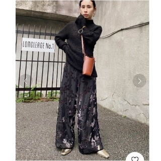 Ameri VINTAGE - AMERI☆UNDRESSED LUNA OPAL WIDE PANTS