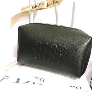 Dior - ディオール ノベルティ ポーチ ブラック 箱あり ゴールドDチャーム
