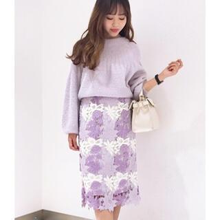 Noela - Noela winterレースタイトスカート