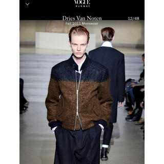 dries van noten 11aw ブルゾン