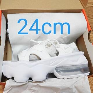 NIKE - エアマックスココ 24cm ホワイト 白 サンダル NIKE ナイキ