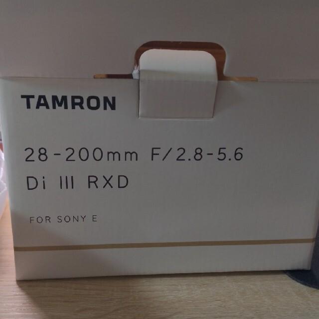 TAMRON(タムロン)のtamron28-200 f2.8-f5.6 値下げ スマホ/家電/カメラのカメラ(レンズ(ズーム))の商品写真