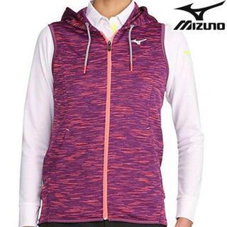 ミズノ(MIZUNO)の新品ミズノ ゴルフウェア スウェットベストスポーツウェアノースリーブパーカー(ウエア)