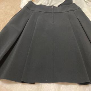 FOXEY - フォクシーブラックスカートタック42サイズ