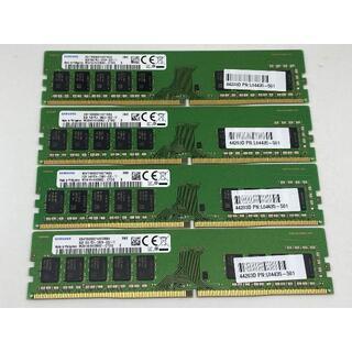 ヒューレットパッカード(HP)のSAMSUNG DDR4 2666 ECC Unbuffered 8GBx4(PCパーツ)
