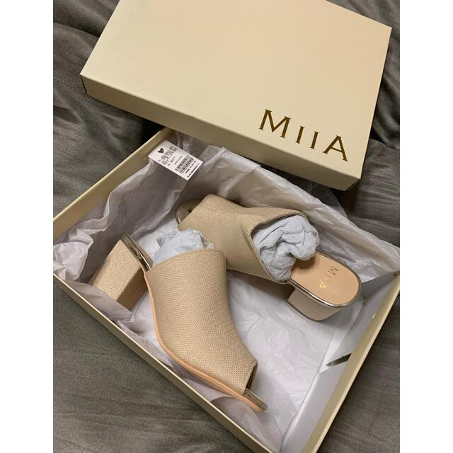 MIIA(ミーア)のミーア サンダル 新品未使用 レディースの靴/シューズ(サンダル)の商品写真