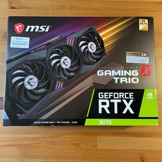 【新品】MSI GeForce RTX 3070 GAMING X TRIO