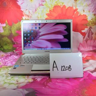 東芝 - (A1208)東芝/ノートパソコン本体/i7/オフィス/ブルーレイ/メモリ8GB