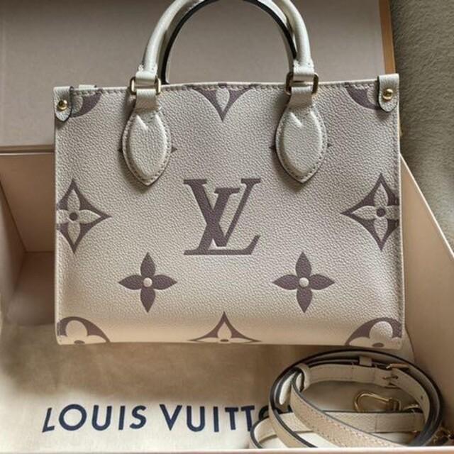 LOUIS VUITTON(ルイヴィトン)のルイヴィトン 完売品 オンザゴーPM レディースのバッグ(ハンドバッグ)の商品写真