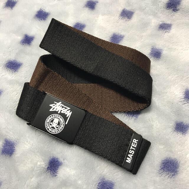 【新品・未使用】Stussy ベルト メンズのファッション小物(ベルト)の商品写真