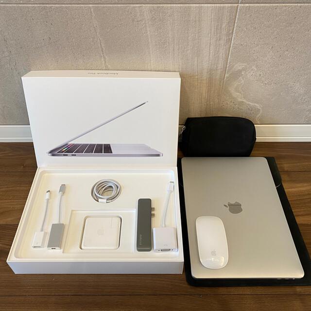 Apple(アップル)の13.3インチ MacBook Pro 2018 512GB マウス、ケース付き スマホ/家電/カメラのPC/タブレット(ノートPC)の商品写真
