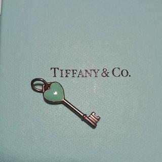 Tiffany & Co. - TIFFANY  ハート キー チャーム