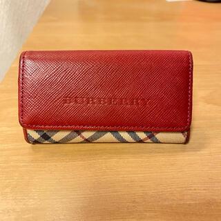 BURBERRY - Burberry バーバリー 4連 キーケース レザー ノバチェック
