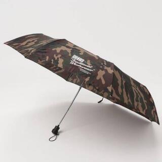 マッキントッシュ(MACKINTOSH)のTraditional Weatherwear 折りたたみ傘 カモフラージュ柄(傘)