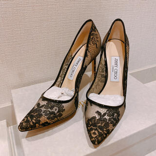 JIMMY CHOO - 【JIMMY CHOO】レースパンプス
