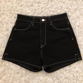 H&M - h&m short pants / エイチアンドエム ショーパン ブラック