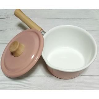 フジホーロー(富士ホーロー)の未使用 Honey Ware ソースパン 片手鍋(鍋/フライパン)
