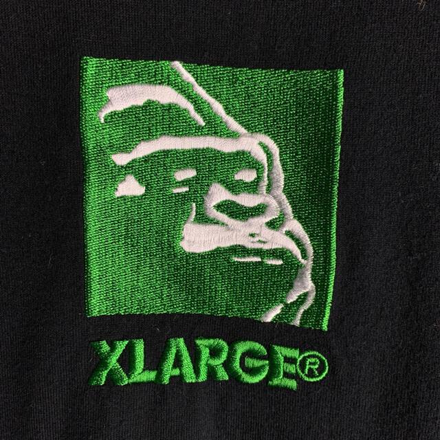 XLARGE(エクストララージ)の【人気デザイン】エクストララージ☆センター刺繍ロゴtシャツ定番カラー即完売 美品 メンズのトップス(Tシャツ/カットソー(半袖/袖なし))の商品写真