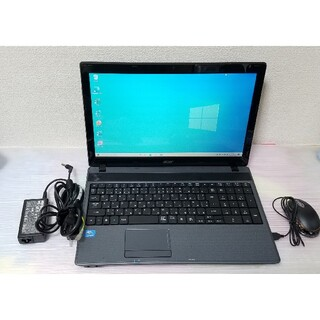 エイサー(Acer)のacer ノートパソコン Windows10 エクセル ワード DVDマルチ(ノートPC)