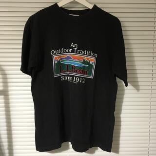 エルエルビーン(L.L.Bean)のエルエルビーン tシャツ オールド 黒(Tシャツ/カットソー(半袖/袖なし))