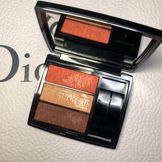Christian Dior - ディオール Dior トリオブリックパレット 653 CORAL CANVAS