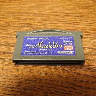 カプコン(CAPCOM)の〈GBAレアソフト〉Aladdin アラジン ゲームボーイアドバンス カプコン(携帯用ゲームソフト)