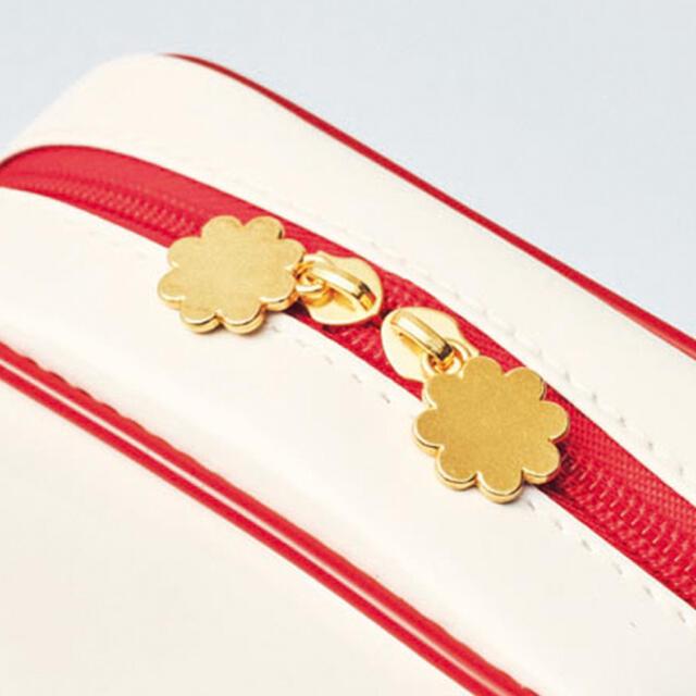MILKFED.(ミルクフェド)のmini(ミニ)付録 ペコちゃんポーチ&ミラーセット レディースのファッション小物(ポーチ)の商品写真