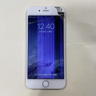 アイフォーン(iPhone)のApple*iPhone6*16GB*Silver*保護フィルム(新品)付(スマートフォン本体)