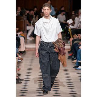 JOHN LAWRENCE SULLIVAN - y/project 20ss レイヤードシャツ 白