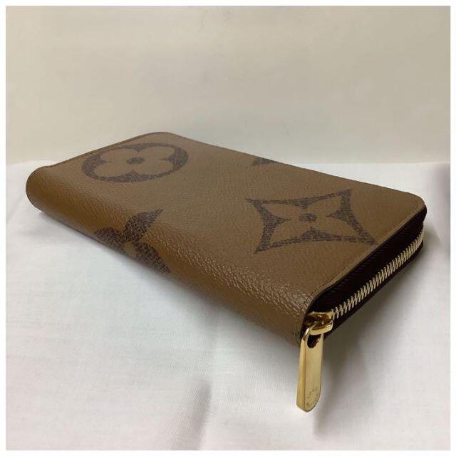 LOUIS VUITTON(ルイヴィトン)のルイヴィトン モノグラム ジャイアントリバース ジッピーウォレット 長財布 レディースのファッション小物(財布)の商品写真