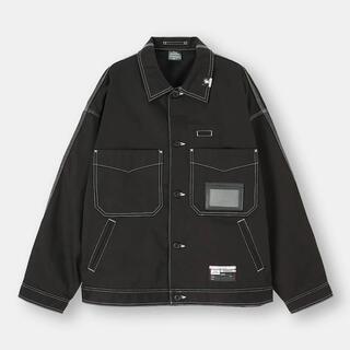 GU - 新品未使用 GU ミハラヤスヒロ シェフジャケットMY ブラック L
