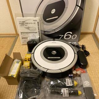 iRobot - 大容量新品バッテリー付き⭐︎使用回数少ない美品⭐︎IROBOT ルンバ760