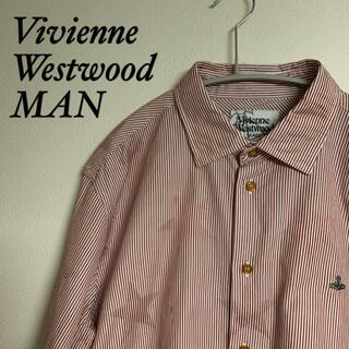 Vivienne Westwood - Vivienne Westwood Man ヴィヴィアン シャツ ロゴ刺繍